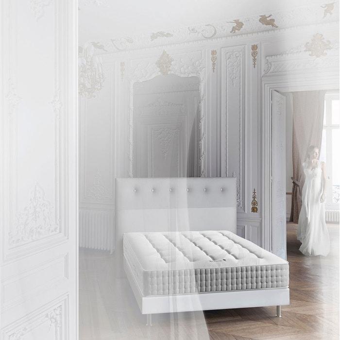matelas ressorts ensach s confort tr s ferme blanc treca. Black Bedroom Furniture Sets. Home Design Ideas