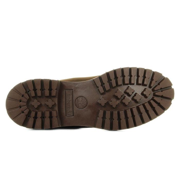 Chaussures homme 6in premium bt pure dark brown marron Timberland