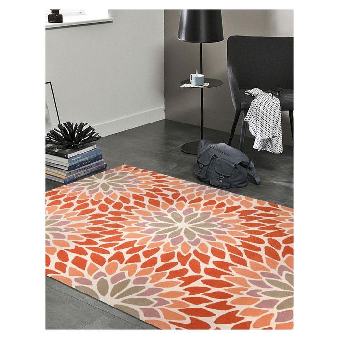 tapis de salon moderne design lotus acrylique esprit la redoute. Black Bedroom Furniture Sets. Home Design Ideas
