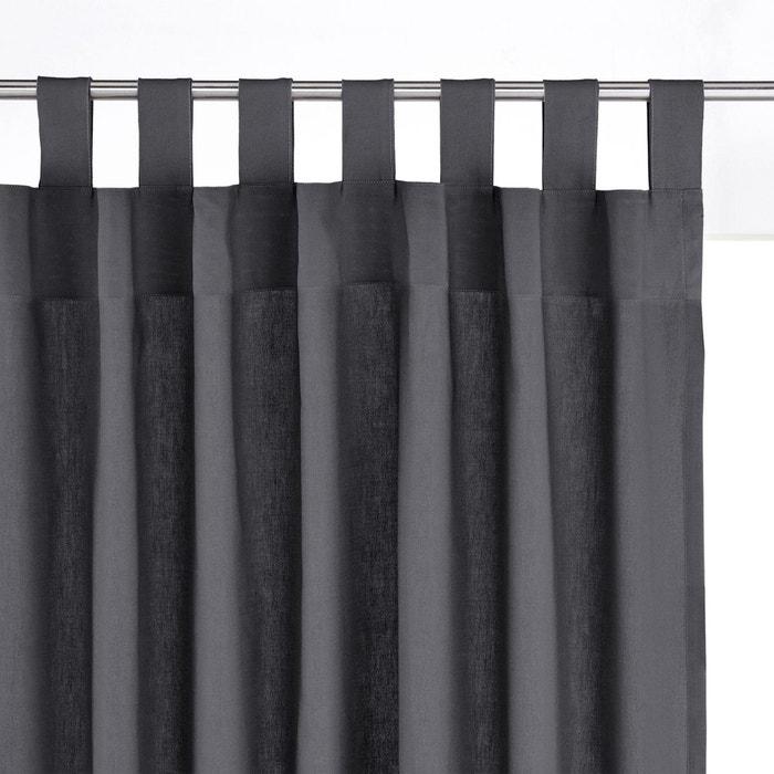 rideau pur coton pattes scenario la redoute. Black Bedroom Furniture Sets. Home Design Ideas
