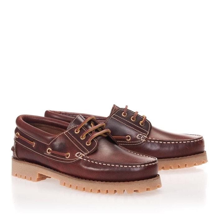 Chaussures bateau en cuir Castellanisimos