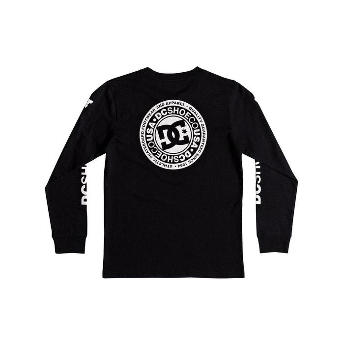 e6854939ff0f7 Tee shirt à manches longues enfant circle sta noir Dc Shoes