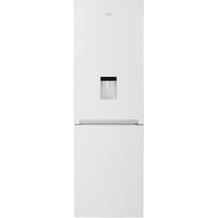 refrigerateur congelateur en bas rcsa365k20dw blanc beko. Black Bedroom Furniture Sets. Home Design Ideas