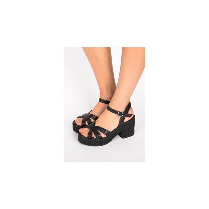 Sandales-claudette noir What For