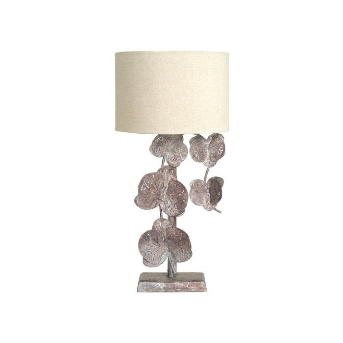 Lampe Automne Fleurs De Chevet Bronze CrdhQstx