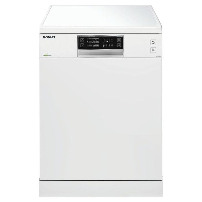 Lave vaisselle dfh13526w blanc brandt la redoute - La redoute vaisselle ...