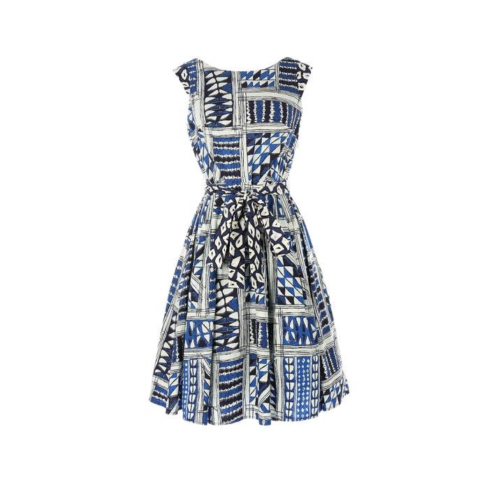 Full Printed Dress  RENE DERHY image 0