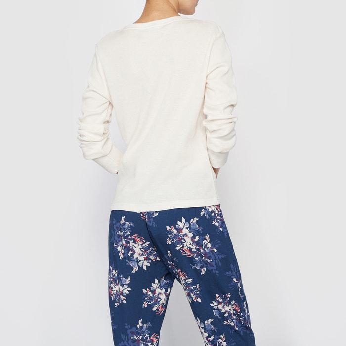 Image T-shirt manches longues Cottage Flower SKINY