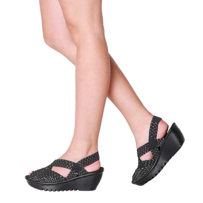Sandales talons BERNIE compensés à Brighten MEV ouvertes fx11HO