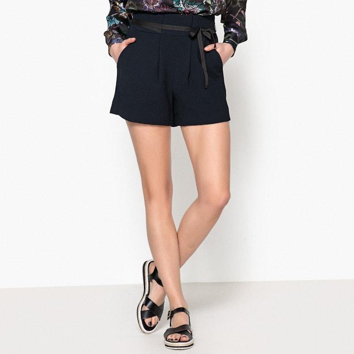 Shorts mit Bundfalten, hohe Taille  IKKS image 0