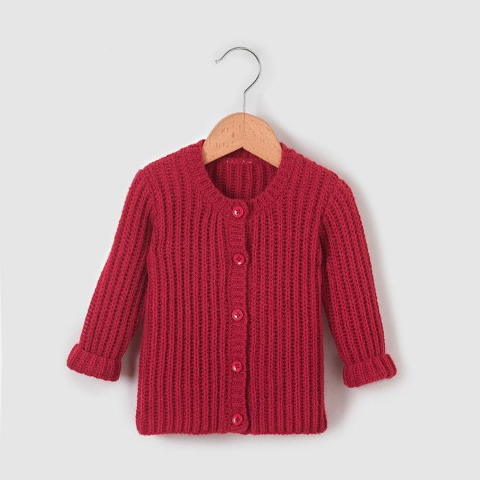 Image Dzianinowy sweter 1 miesiąc-3 lata La Redoute Collections