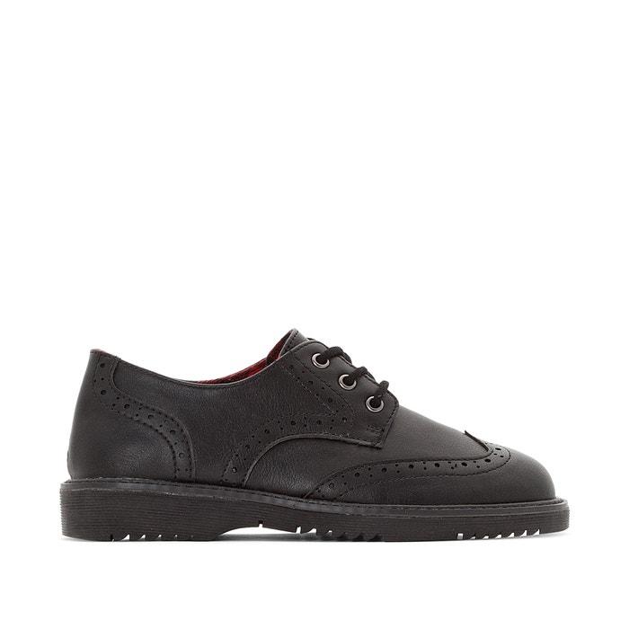 Sapatos derbies com atacadores, do 30 ao 39  La Redoute Collections image 0