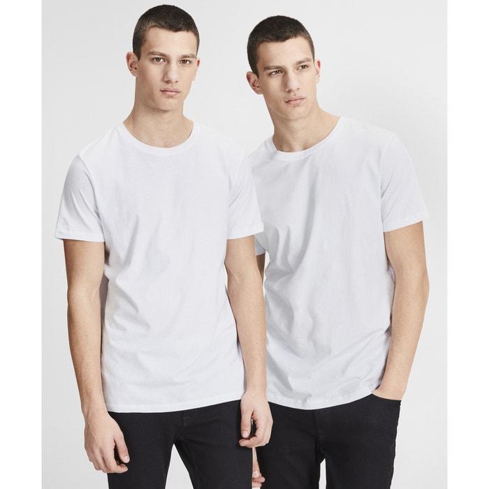 T-shirt scollo rotondo maniche corte confezione da 2  JACK & JONES image 0