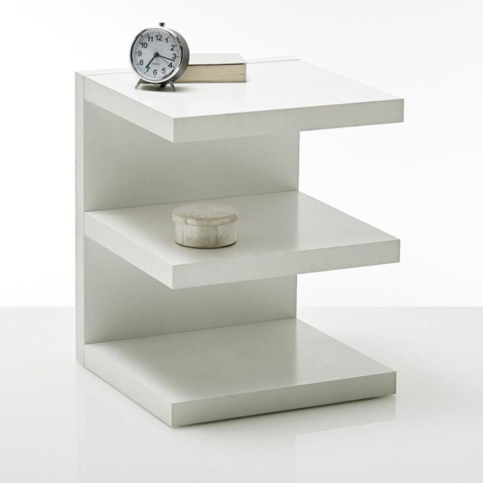 Ylex E Shape Bedside Table La Redoute Interieurs La Redoute
