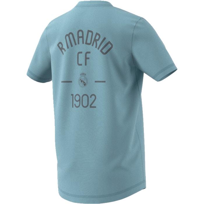 Camiseta real madrid 4 - 16 años gris ceniza Adidas Originals  3110c2dd177b4