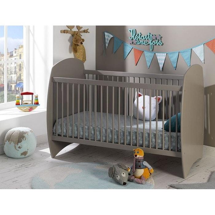 lit volutif b b 70x140 barreaux lin violette lin alfred et compagnie la redoute. Black Bedroom Furniture Sets. Home Design Ideas