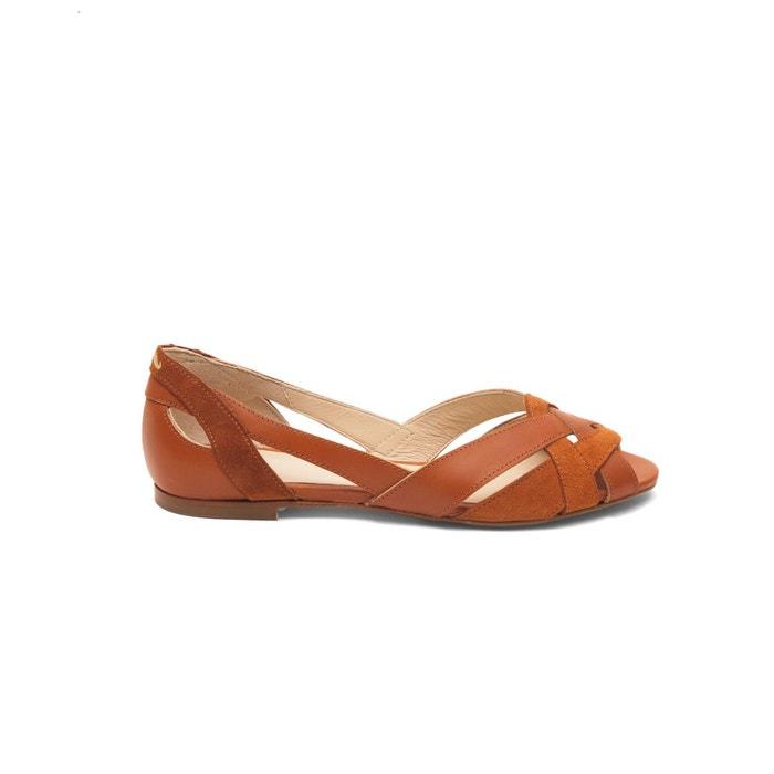 Sandales cuir plates Clémentines