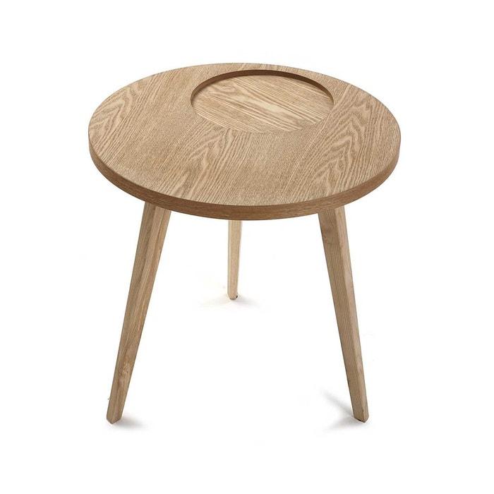 table de chevet bout de canap style scandinave en bois. Black Bedroom Furniture Sets. Home Design Ideas