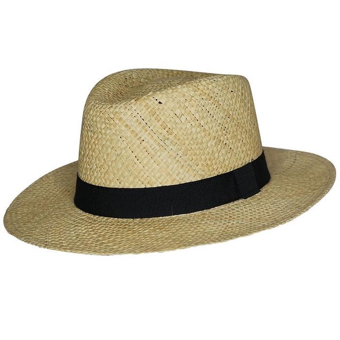 Chapeau style panama paille blanc Chapeau Vente Nouvelle yk1ClcoN