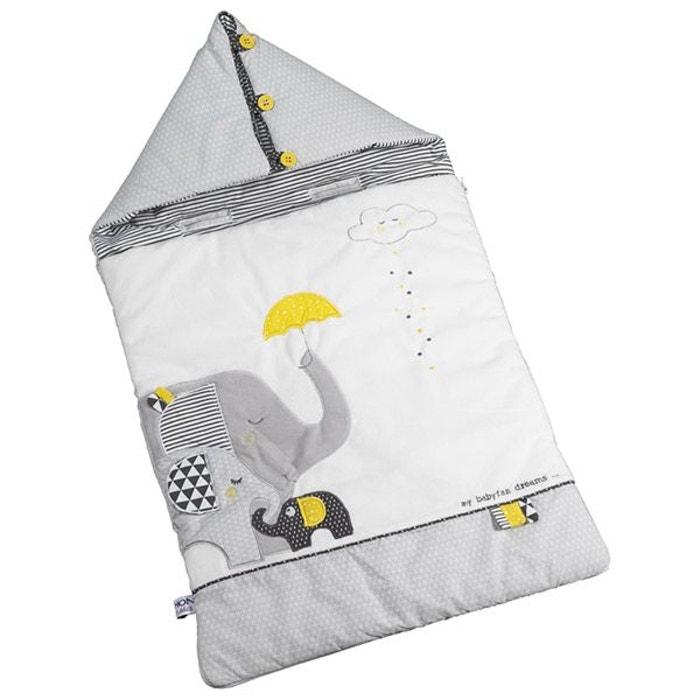 nid d 39 ange 80cm nomade babyfan gris sauthon la redoute. Black Bedroom Furniture Sets. Home Design Ideas