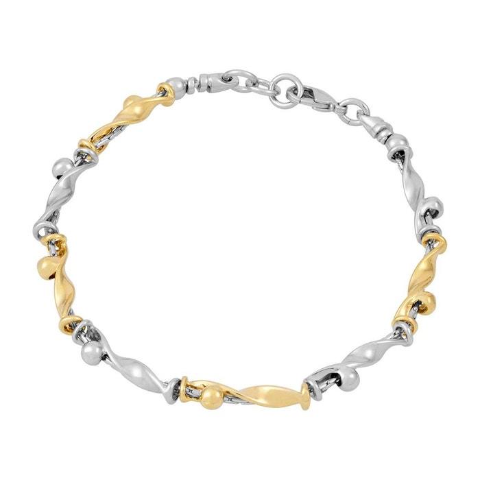 Vente Pas Cher Trouver Une Grande Bracelet plaqué or multi couleur Bijoux  Charles Jourdan   La 772a7c7f8319