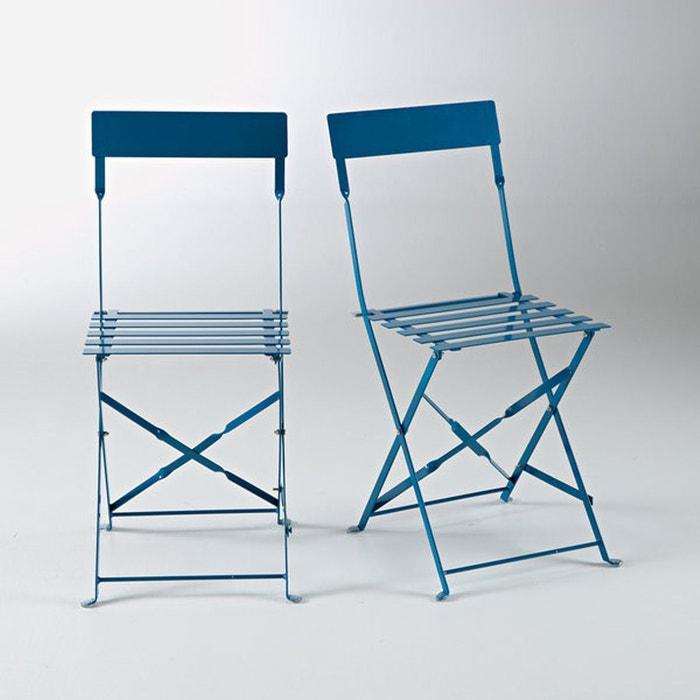Chaise pliante métal, ozevan (lot de 2) La Redoute Interieurs | La ...