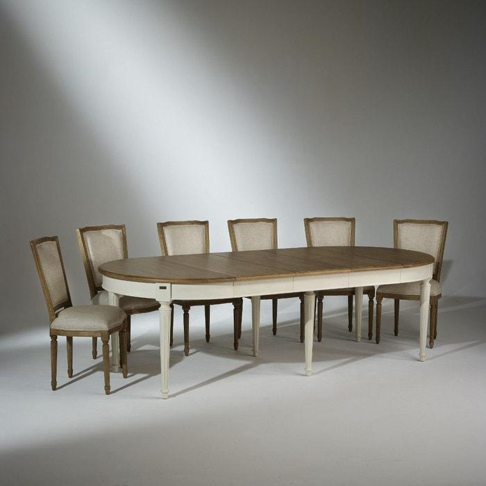 Table Salle à Manger Florence, Extensible, 4 à 12 Couverts Robin Des Bois |  La Redoute