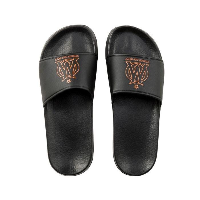 Sandales marseille fan noir noir Made In Sport