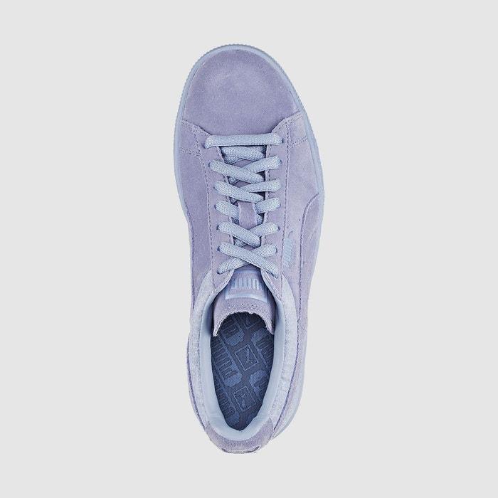 Baskets suédé classic casual emboss violet Puma