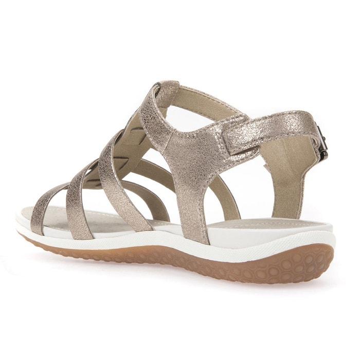 Sandales d sand.vega a plomb Geox