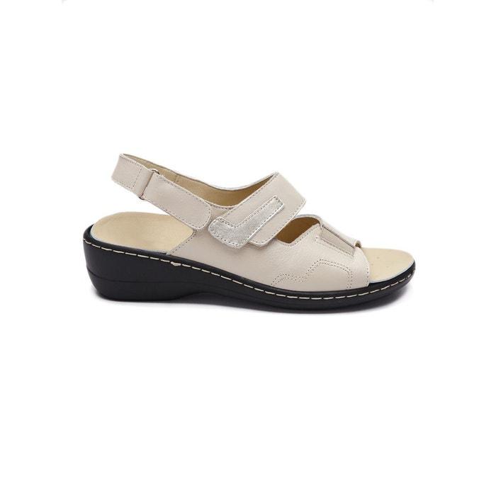 Sandales à semelle amovible Pediconfort