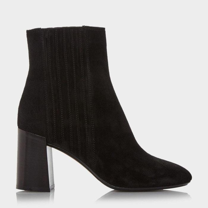 Magasin Discount La Sortie Populaire Block heel suede ankle boot 4s1ugts