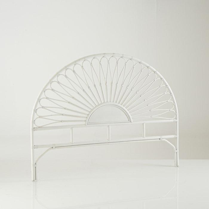 t te de lit rotin tio la redoute interieurs blanc la redoute. Black Bedroom Furniture Sets. Home Design Ideas