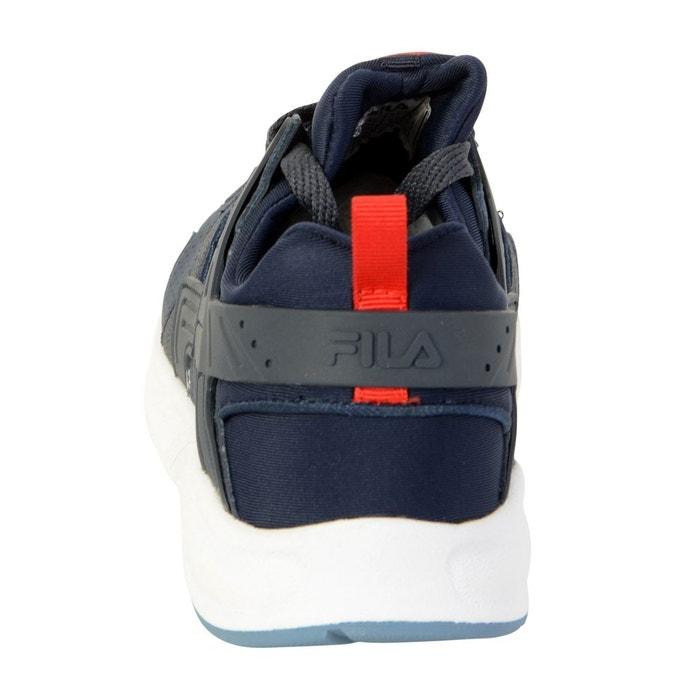 Basket fleetwood low dress blue bleu marine/rouge/blanc Fila