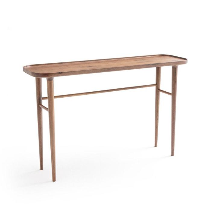 console noyer massif magosia noyer am pm la redoute. Black Bedroom Furniture Sets. Home Design Ideas