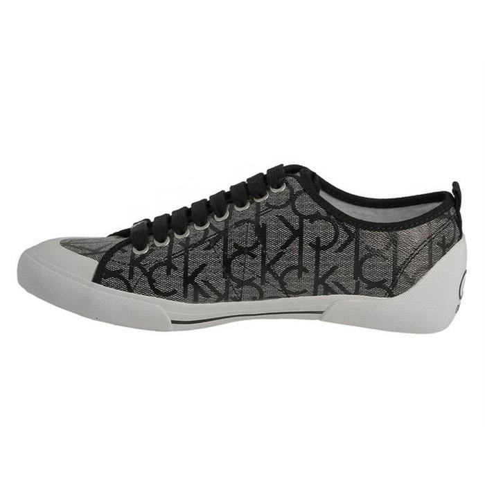 Baskets mode textile gris Calvin Klein Énorme Surprise Meilleur Prix Prix Pas Cher vIW4s
