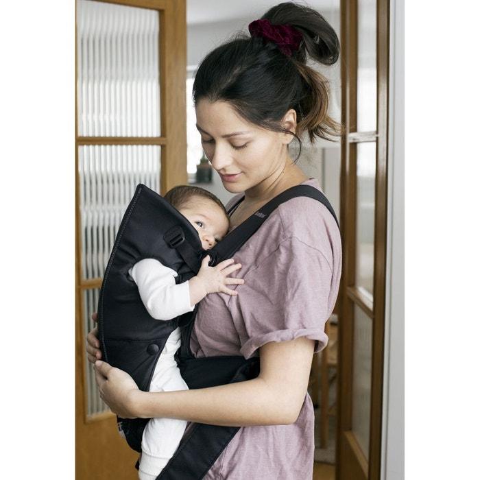 5d1d2d17886 Porte bébé mini coton 21056 noir Babybjorn