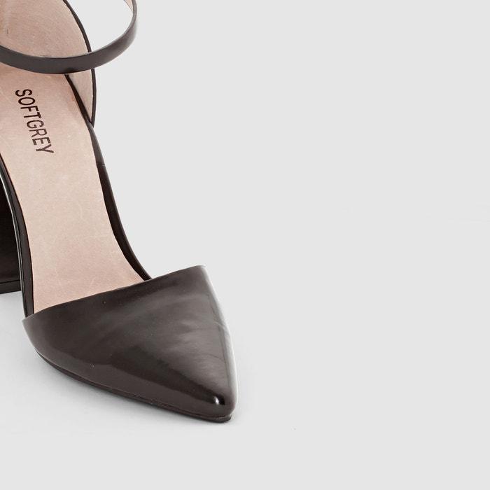 Imagen de Zapatos de tacón con correa y hebilla La Redoute Collections