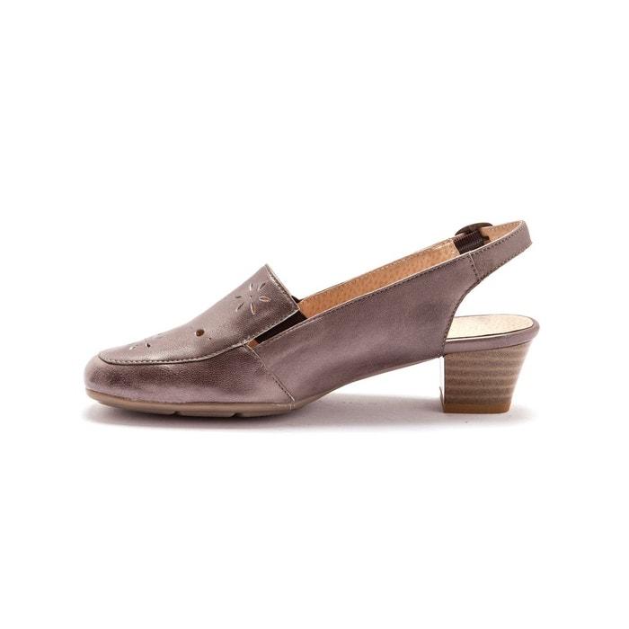 ... Sandales cuir avec perforations fantaisie PEDICONFORT (2) ...