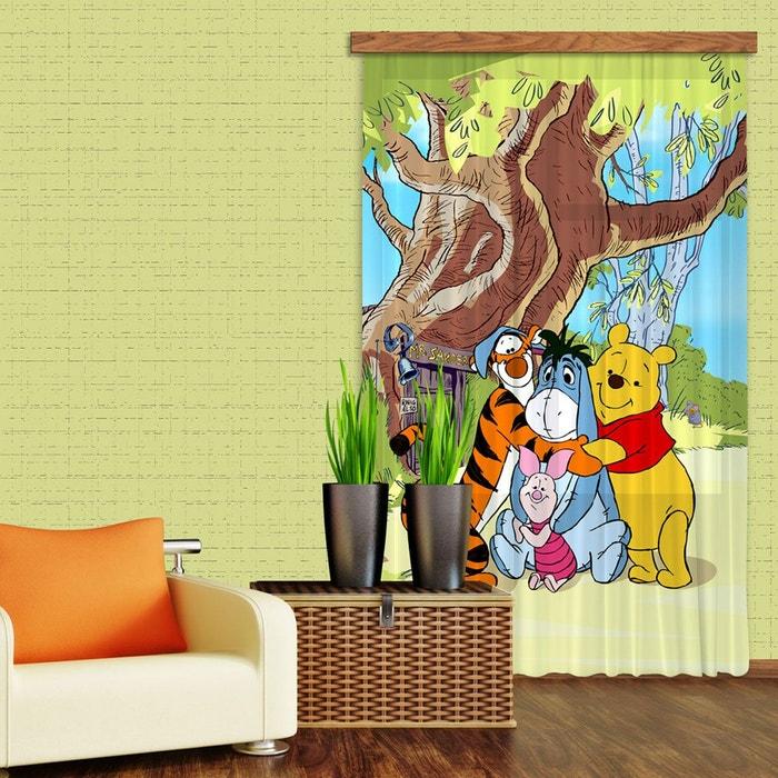 Rideaux winnie l\'ourson câlin disney-standard : 140x245 cm ...