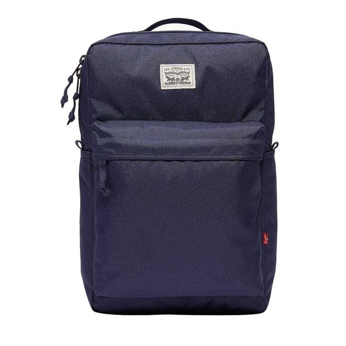 Sac à dos l pack en toile marine polyester bleu Levi's | La Redoute Énorme Surprise xBgMc