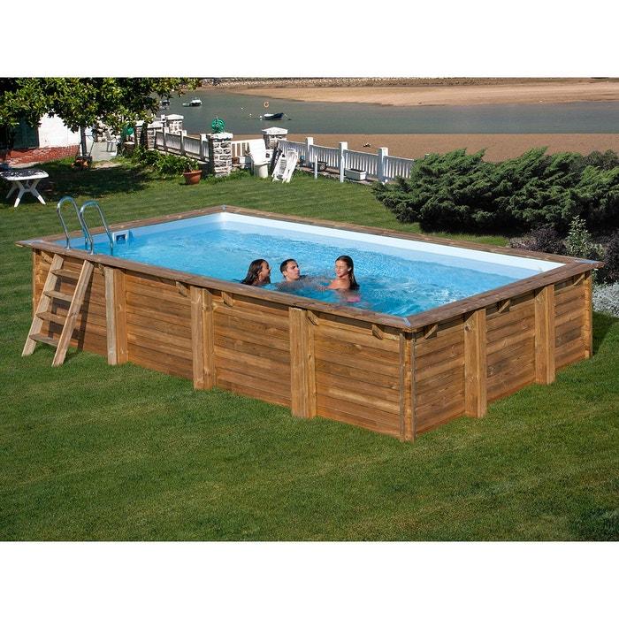 piscine bois marbella 4 00 x 2 50 x 1 19 m sunbay. Black Bedroom Furniture Sets. Home Design Ideas