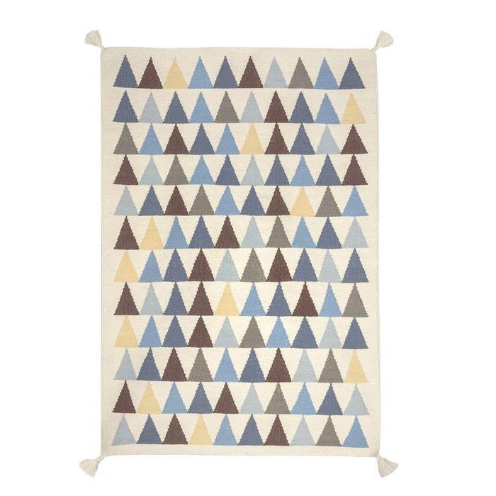 tapis kilim triangles art for kids la redoute. Black Bedroom Furniture Sets. Home Design Ideas