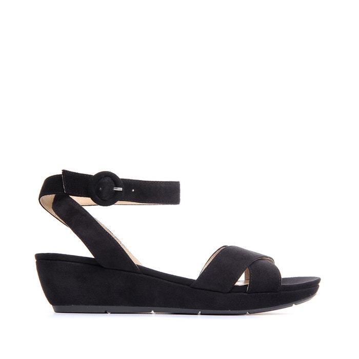 Sandales à talon bright noir Jb Martin La Redoute WNR775MN
