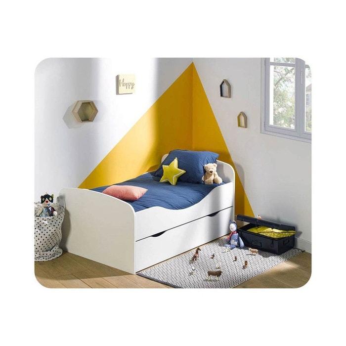 pack lit enfant evolutif oaki avec tiroir et matelas ma. Black Bedroom Furniture Sets. Home Design Ideas