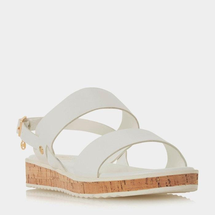 Sandales plates avec bride de cheville à breloque Acheter En Ligne Pas Cher agréable a1sImtOCN