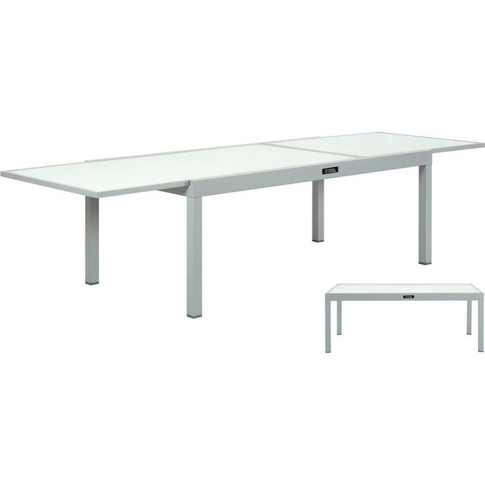 Porto Aluminium Jardin Table Extensible De 12 Ph Nv0mnw8O