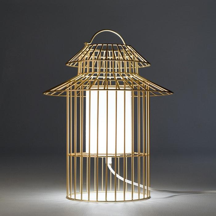 lampe poser enfant cage oiseau cuicuicui am pm m tal la redoute. Black Bedroom Furniture Sets. Home Design Ideas
