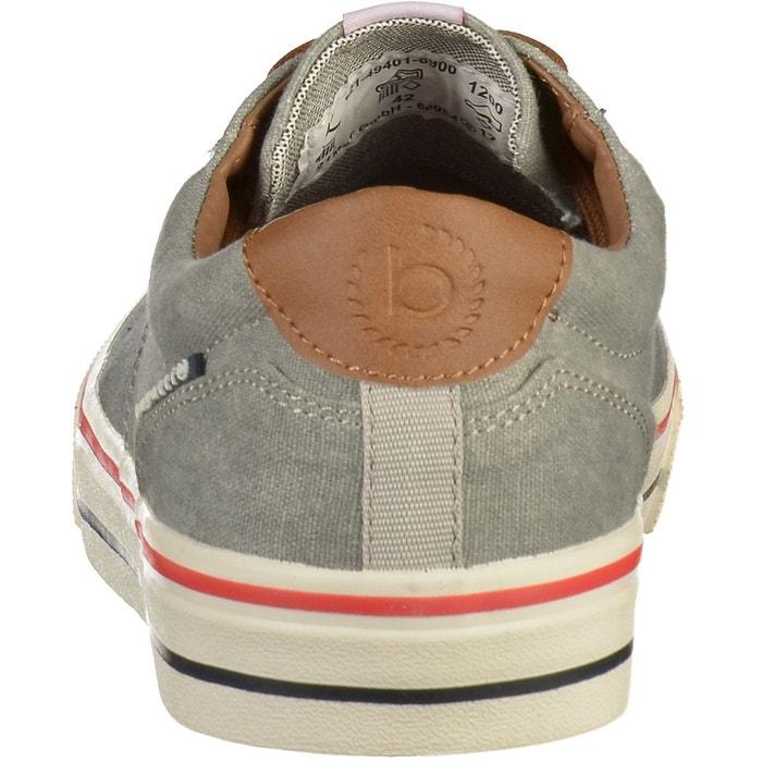 Sneaker gris clair Bugatti