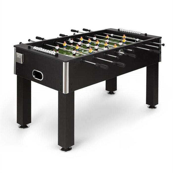 Maracanã table de babyfoot 118 x 68cm - bois mdf noir Klarfit   La Redoute 1302dd647172